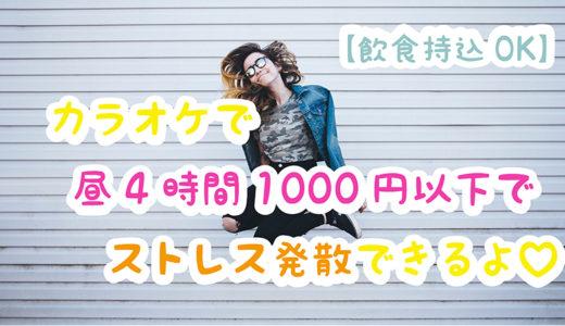 【飲食持ち込みOKカラオケ】ジャンカラで昼4時間1000円以下でママ友とストレス発散できるよ♡