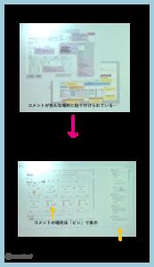 エクセルやパワポだと情報が溢れて分かりづらかったのが、XDだとコメント欄がまとめられており、見たい情報が見つけやすい